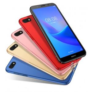 Пластиковый непрозрачный матовый чехол с улучшенной защитой элементов корпуса для Huawei Honor 7A/Y5 Prime (2018)