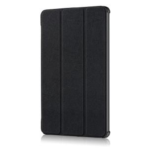 Сегментарный чехол книжка подставка на непрозрачной поликарбонатной основе для Huawei MediaPad M5 10.8