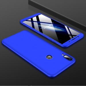 Двухкомпонентный пластиковый непрозрачный матовый сборный чехол для ASUS ZenFone Max Pro M1