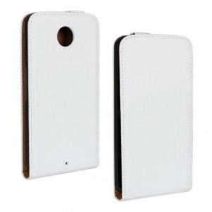Чехол вертикальная книжка на пластиковой основе на магнитной защелке для Google Nexus 6
