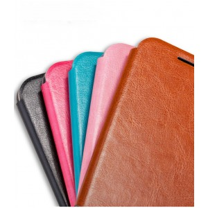 Чехол горизонтальная книжка подставка на силиконовой основе для Huawei P9
