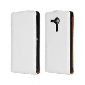 Чехол вертикальная книжка на пластиковой основе на магнитной защелке для Sony Xperia SP