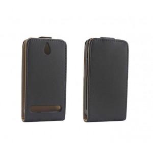 Чехол вертикальная книжка на пластиковой основе на магнитной защелке для Sony Xperia E1