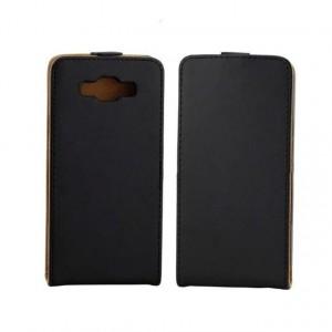 Чехол вертикальная книжка на пластиковой основе на магнитной защелке для Samsung Galaxy E7