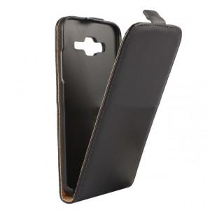 Глянцевый водоотталкивающий чехол вертикальная книжка на пластиковой основе на магнитной защелке для Samsung Galaxy J5