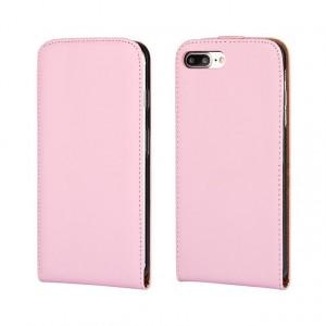 Чехол вертикальная книжка на силиконовой основе на магнитной защелке для Iphone 7/8 Розовый
