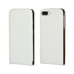 Чехол вертикальная книжка на силиконовой основе на магнитной защелке для Iphone 7/8 Белый