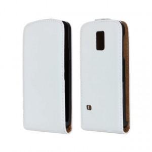 Винтажный чехол вертикальная книжка на пластиковой основе на магнитной защелке для Samsung Galaxy S5 Mini