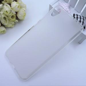Силиконовый матовый полупрозрачный чехол для ASUS ZenFone Live L1 Белый