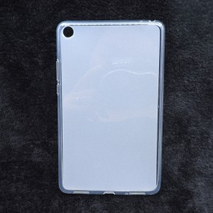 Силиконовый матовый полупрозрачный чехол для Xiaomi Mi Pad 4 Белый