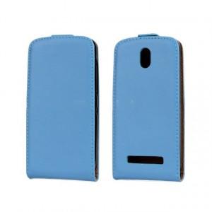 Чехол вертикальная книжка на пластиковой основе на магнитной защелке для HTC Desire 500