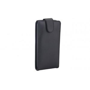 Чехол вертикальная книжка на силиконовой основе на магнитной защелке для HTC Desire 700