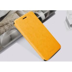 Чехол горизонтальная книжка подставка на силиконовой основе для HTC Desire 728