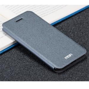 Чехол горизонтальная книжка подставка текстура Золото на силиконовой основе для Iphone 7 Plus/8 Plus Черный