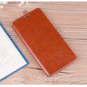 Чехол горизонтальная книжка подставка на силиконовой основе для Lenovo K6