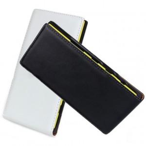 Чехол вертикальная книжка на пластиковой основе на магнитной защелке для Nokia Lumia 1520