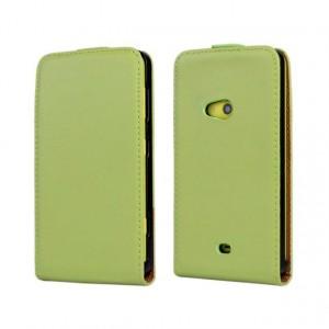 Чехол вертикальная книжка на пластиковой основе на магнитной защелке для Nokia Lumia 625