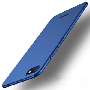 Пластиковый непрозрачный матовый чехол с улучшенной защитой элементов корпуса для Xiaomi RedMi 6A Синий