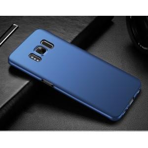 Пластиковый непрозрачный матовый чехол с улучшенной защитой элементов корпуса для Samsung Galaxy S8 Plus