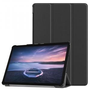 Сегментарный чехол книжка подставка на непрозрачной поликарбонатной основе для Samsung Galaxy Tab S4 Черный