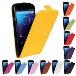 Чехол вертикальная книжка на пластиковой основе на магнитной защелке для Samsung Galaxy Ace 3