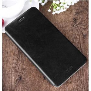 Чехол горизонтальная книжка подставка на силиконовой основе для Samsung Galaxy C7