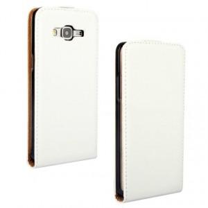 Чехол вертикальная книжка на пластиковой основе на магнитной защелке для Samsung Galaxy Grand Prime
