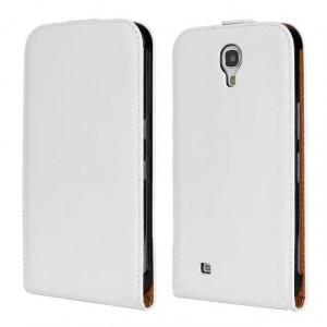Чехол флип на пластиковой основе на магнитной защелке для Samsung Galaxy Mega 6.3  Белый