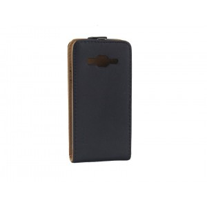 Чехол вертикальная книжка на пластиковой основе на магнитной защелке для Samsung Galaxy Express
