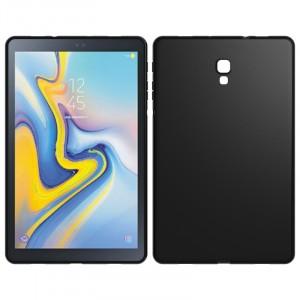 Силиконовый матовый непрозрачный чехол для Samsung Galaxy Tab A 10.5 Черный