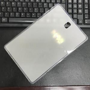 Силиконовый матовый полупрозрачный чехол для Samsung Galaxy Tab S4 Белый