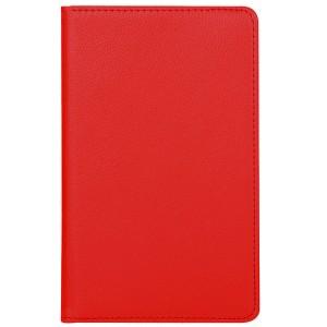 Роторный чехол книжка подставка на непрозрачной поликарбонатной основе для Samsung Galaxy Tab S4 Красный