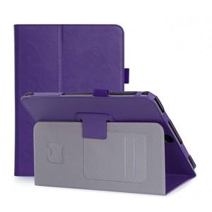 Глянцевый водоотталкивающий чехол книжка подставка с рамочной защитой экрана, крепежом для стилуса, магнитной защелкой, отсеком для карт и поддержкой кисти для Samsung Galaxy Tab S4