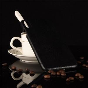 Пластиковый непрозрачный матовый чехол накладка с текстурным покрытием Кожа крокодила для Iphone Xs Max Черный