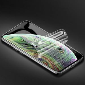 Экстразащитная термопластичная саморегенерирующаяся уретановая пленка на плоскую и изогнутые поверхности экрана для Iphone Xs Max