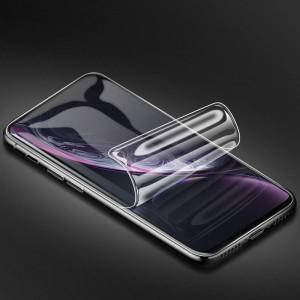 Экстразащитная термопластичная саморегенерирующаяся уретановая пленка на плоскую и изогнутые поверхности экрана для Iphone Xr