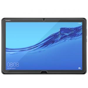 Ультратонкое износоустойчивое сколостойкое олеофобное защитное стекло-пленка для Huawei MediaPad M5 Lite