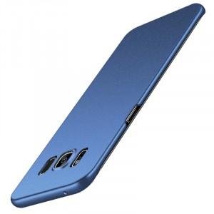 Пластиковый непрозрачный матовый чехол с повышенной шероховатостью для Samsung Galaxy S8 Plus