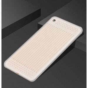 Силиконовый матовый полупрозрачный чехол текстура Линии для Xiaomi Mi Pad 4 Plus