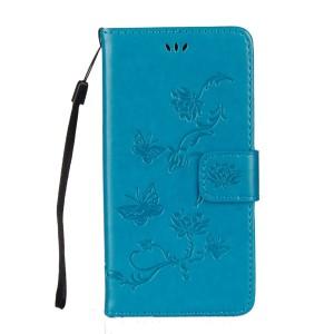 Чехол портмоне текстура Узоры на силиконовой основе с отсеком для карт на дизайнерской магнитной защелке для Huawei P20 Lite