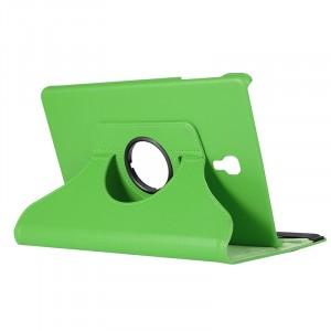 Роторный чехол книжка подставка на непрозрачной поликарбонатной основе для Samsung Galaxy Tab A 10.5 Зеленый