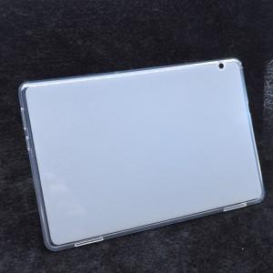 Силиконовый матовый полупрозрачный чехол для Huawei MediaPad T5 Белый