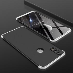 Двухкомпонентный пластиковый непрозрачный матовый сборный чехол для Huawei Honor 8X Белый