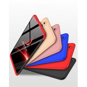 Двухкомпонентный пластиковый непрозрачный матовый сборный чехол для Huawei Honor 8X