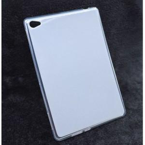 Силиконовый матовый полупрозрачный чехол для Huawei MediaPad M5 Lite