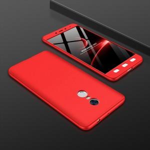 Двухкомпонентный сборный пластиковый матовый чехол для Xiaomi RedMi Note 4