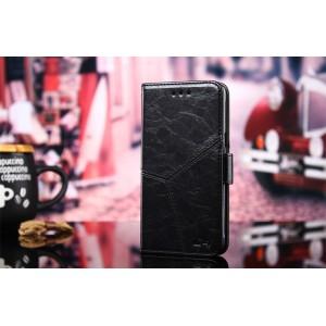 Винтажный чехол портмоне подставка текстура Линии на силиконовой основе с отсеком для карт на магнитной защелке для Huawei Honor 8X Черный
