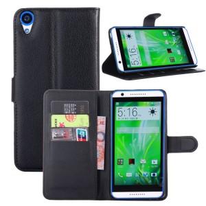 Чехол портмоне подставка на силиконовой основе на магнитной защелке для HTC Desire 820
