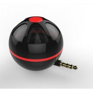 Портативный универсальный внешний мини-динамик 3.5мм 3Вт серия Sphere Черный