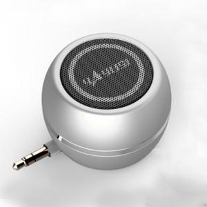 Портативный универсальный внешний мини-динамик 3.5мм 3Вт серия ColorMusic Серый